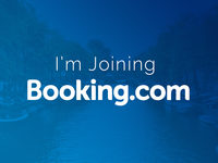 I'm Joining Booking.com