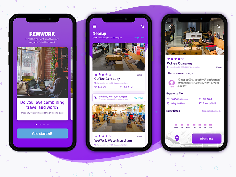RemWork - Find the perfect spot to work
