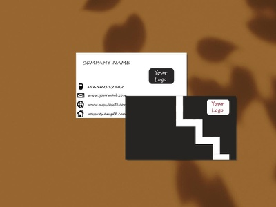 Business Card Design Template professional card design identity template business card branding motion graphics graphic design