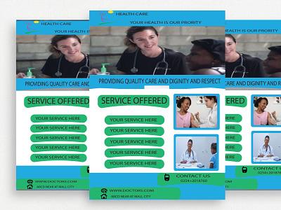 Flyer Design Template professional template design flyer branding motion graphics graphic design