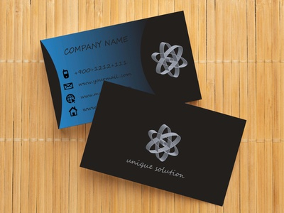 Business Card Design Template business card card corporate professional design motion graphics branding graphic design