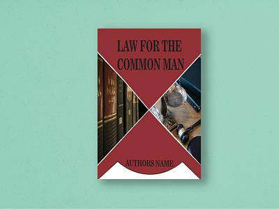 Law Book Cover Design Template book cover modern template design law book cover branding graphic design