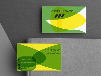 Business Card Design Template professional corporate template motion graphics design modern branding graphic design