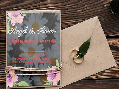 Wedding Invitation Card Design Template design motion graphics modern template branding graphic design