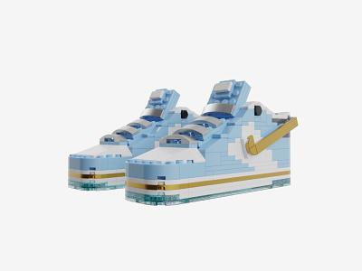 Bricks Kicks SB Dunk x Sean Cliver Collectible Kit sneakers nike lego model design