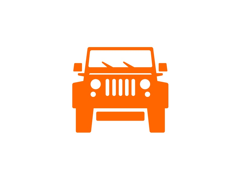 jeep rubicon icon by kwaku amuti dribbble