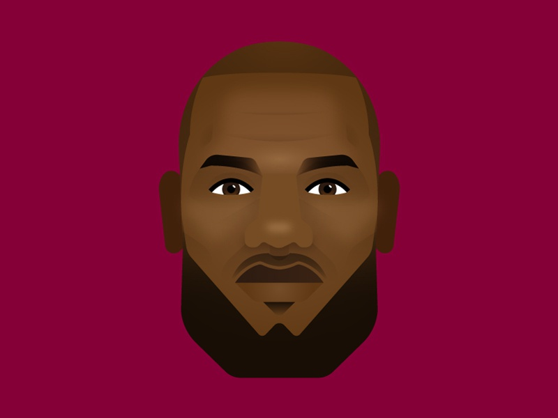 LeBron James cavaliers sports lebron nba illustrations