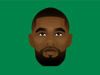 Kyrie Irving sports kyrie nba illustration celtics