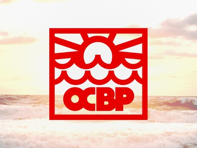OCBP // Badge Exploration sunrise sunset sun design active energy branding rescue badge ocbp east coast wave surf surf rescue lifeguard swim water beach patrol maryland ocean city