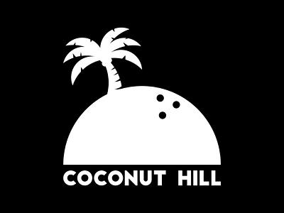 Coconut Hill recording studio record label music coconut palm tree graphic design design branding logo