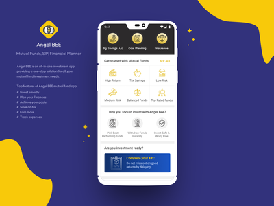 Angel BEE - Mutual Funds, SIP, Financial Planner Dashboard