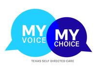 My Voice My Choice Speech Bubble Logo