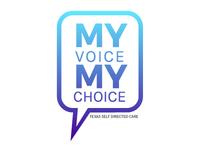 My Voice My Choice Gradient Logo