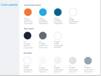 Style Guide - Colors