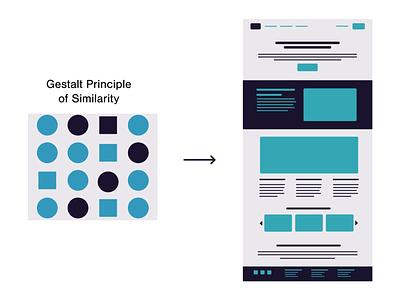 Psychology & Design: Gestalt principles and more illustration designer wireframe web design multistability invariance reification emergence design principles similarity gestalt graphic design psychology