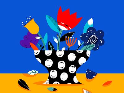 Plants editorialillustration editorial illustration