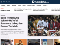 Katadata.co.id website redesign