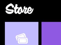 Metro UI style e-commerce theme