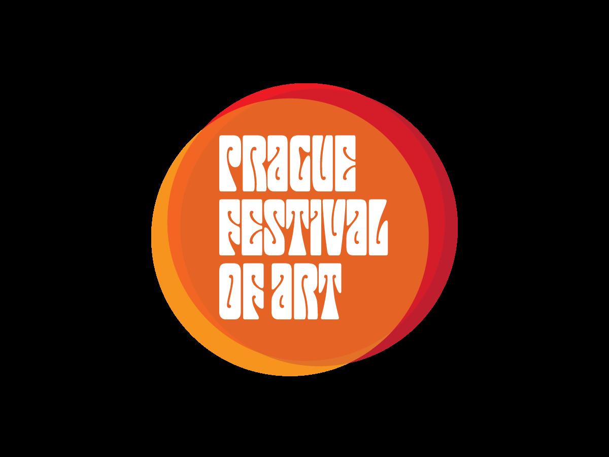 Prague Festival of Art design typography illustration branding logo