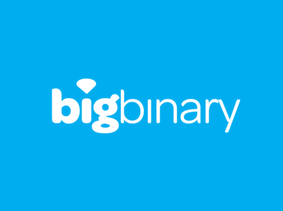 Big Binary branding logo