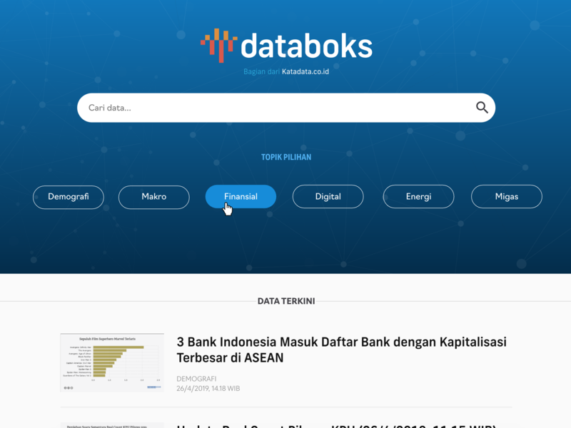 Logo and colorscheme iteration for Databoks logo branding minimal ui information architecture editorial design typography
