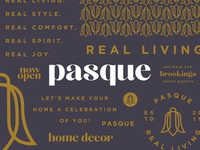 Pasque Branding