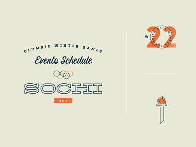 Sochi Events Schedule