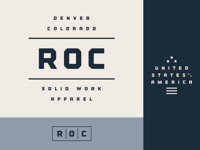 WIP Branding Concept for ROC branding wip logo blog freelance typography women outdoor ladies