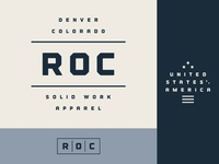 WIP Branding Concept for ROC