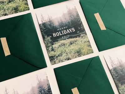 Minimal Holiday Card