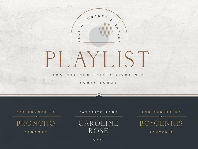 Best of 2018 playlist