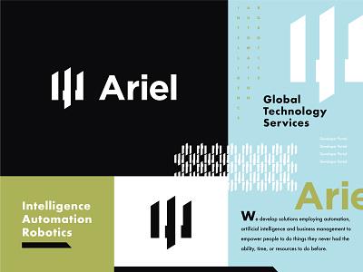Ariel Logo - Option 1 fintech exploration brand elements typography logo developer portal branding