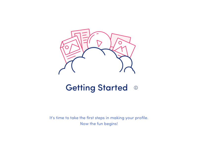 App Tutorial Graphic steps icon infographic graphic tutorial