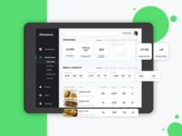 Restaurant Dashboard UI