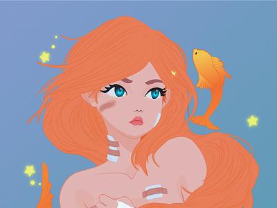 Fish vector illustration graphic design adobe illustrator