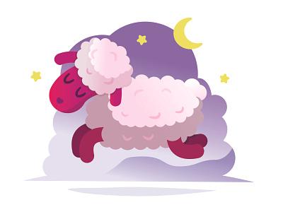 Sheep vector illustration graphic design adobe illustrator
