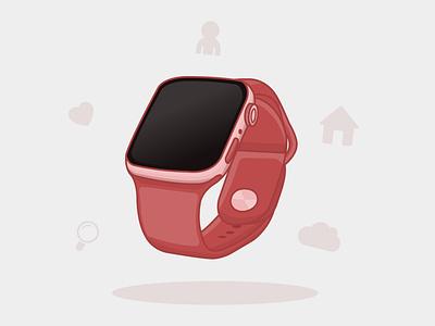 Smart watch illustration design vector adobe illustrator illustration graphic design