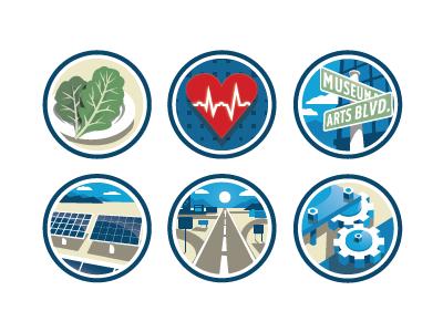 icon set art direction adobe illustrator infographic identity branding icons