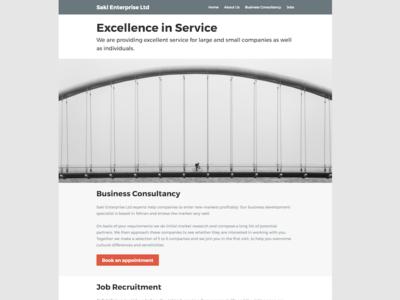 Saki Enterprise Homepage