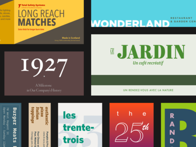 Typography Exercises