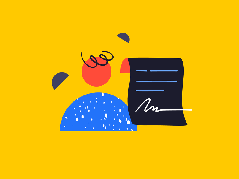 Signatures and scribbles spot illustration character handrawn texture vector character design branding empty state emptystate ui brand designer brand design illustration shapes