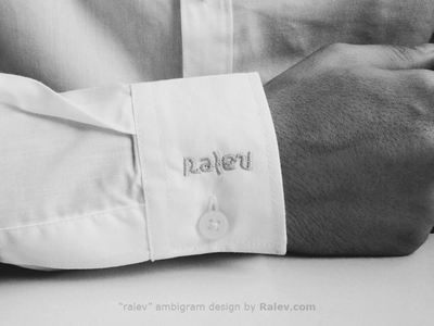 Ralev Corporate Ambigram
