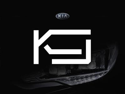 Kia K9 Logo Design