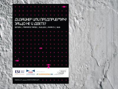 Poster Design Entrepreneurs' Talk