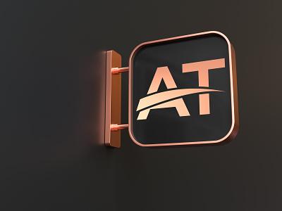 Initial Logo illustration icon app logo design initial logo logo design