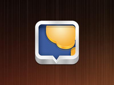 iOS App Icon ios app icon messages forum bbs