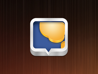 iOS App Icon ios app icon messages forum bbs