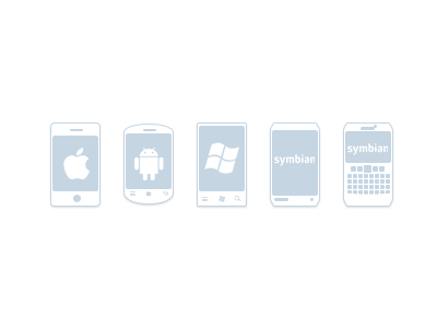 Phone Icons mobile phone icon