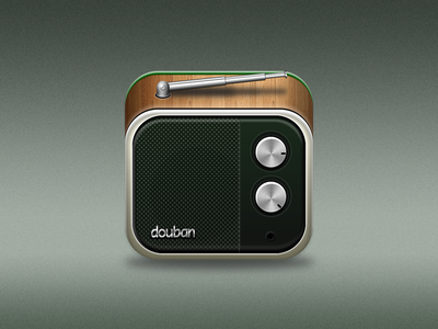 Douban Fm App icon ios app douban radio music icon