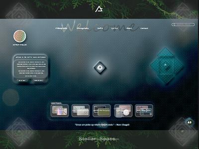 Web Design. Neumorphic and Glassmorphic #2 clean art illustrator icon web website ux ui branding neumorphism vector logo animation graphic design illustration design